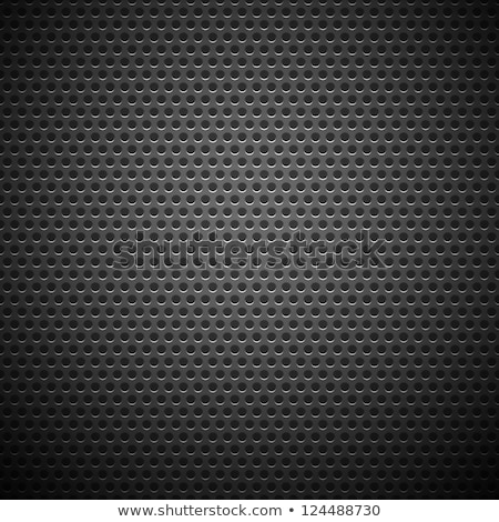 Technology Background with Circilar Metal Chrome Texture Stock photo © molaruso