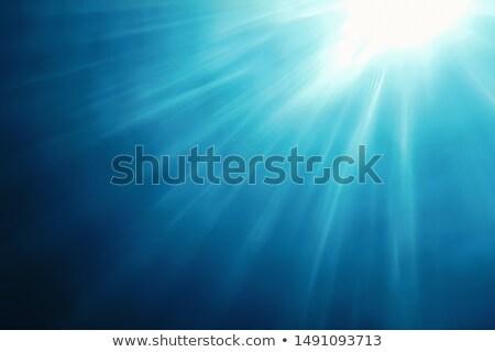 Stock fotó: Napsütés · vízalatti · illusztráció · víz · absztrakt · fény
