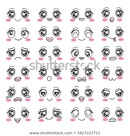 cartoon eyes set stock photo © romvo