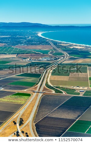 Farmland and Freeway 101 in California Stock photo © Dreamframer
