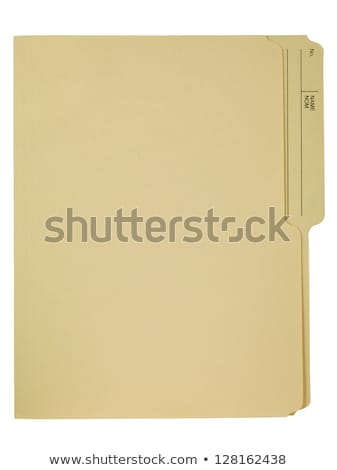File folders with a tab labeled Confidential Stock photo © Zerbor