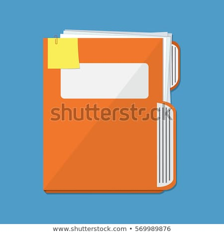 File folders with a tab labeled Jobs Stock photo © Zerbor