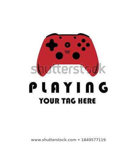 color vintage game industry emblem stock photo © netkov1