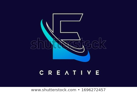 E Logo.E Letter Icon Design Vector stock photo © twindesigner