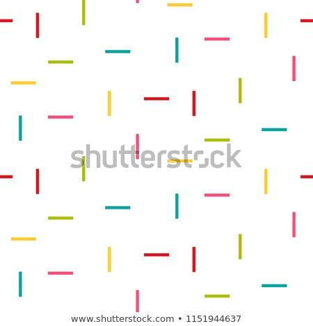Line Rechteck Regen Formen Stock foto © yopixart