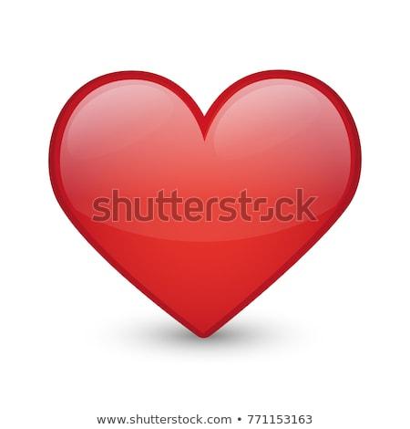 цифровой вектора красный сердце текстуры Валентин Сток-фото © frimufilms