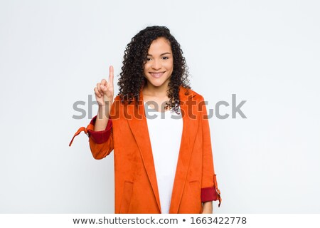 Fresh young woman smiling happily stock photo © nyul