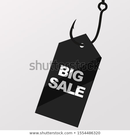 Hooked On Cyber Monday Sale Concept Stock photo © ivelin