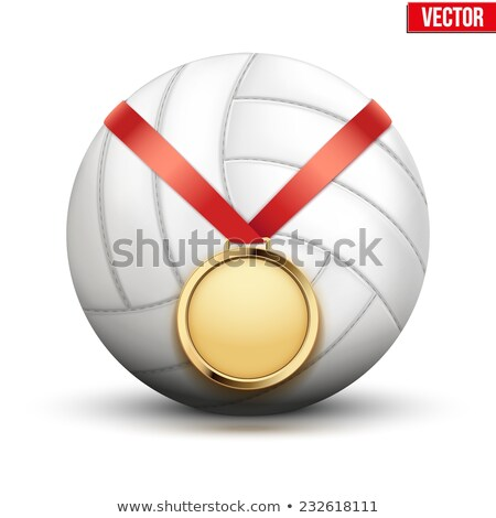 volleyball medals stock photo © rastudio
