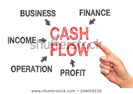 Operating cash flow management. Manage business liquidities. Stock photo © olivier_le_moal