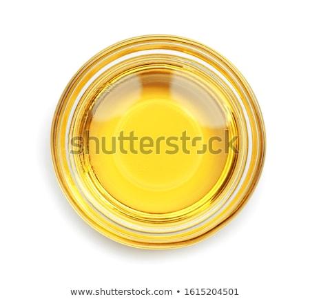 Naturale arachidi olio cucchiaio dadi alimentare Foto d'archivio © olira