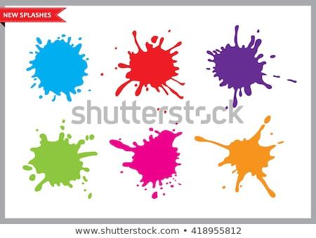коллекция красочный Гранж краской аннотация Сток-фото © SArts