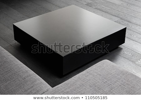 Contemporary coffee table detail Stock photo © cienpies