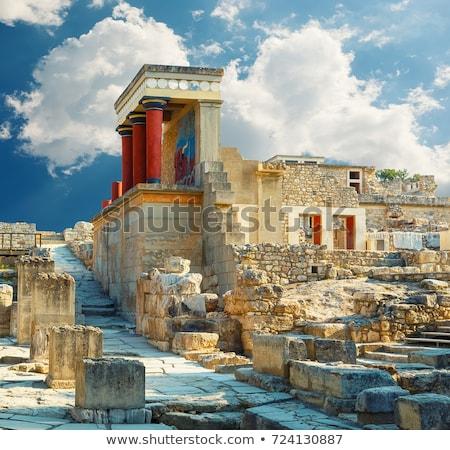 Ancient Minoan Temple Stock photo © alrisha