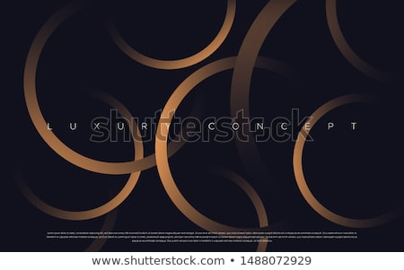 3d brown futuristic abstraction Stock photo © FransysMaslo