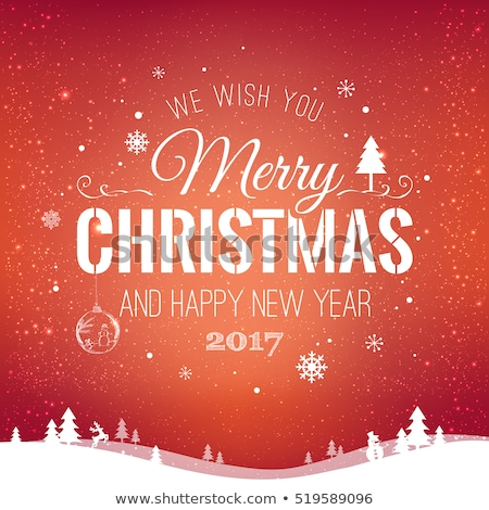 черный · красный · Рождества · украшения · белый - Сток-фото © marish