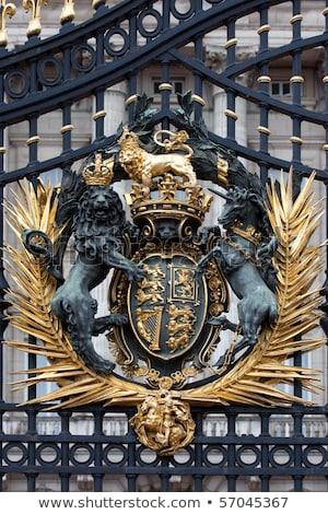 Londen · jas · armen · vlag · stad · kruis - stockfoto © ribeiroantonio