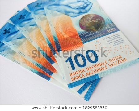 One hundred swiss francs Stock photo © Elenarts