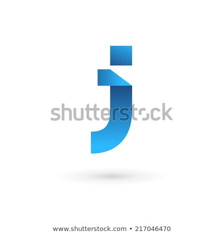 Glossy Icons for letter J stock photo © cidepix