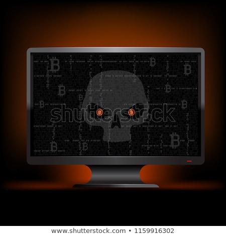 olho · código · binário · corredor · computador · internet - foto stock © balefire9