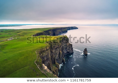 Stock photo: cliff and the sea