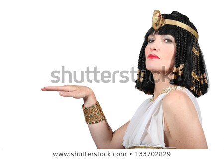 Woman in Cleopatra Fancy Dress Costume Stock photo © photography33