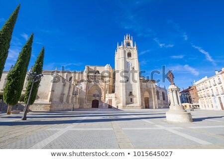 Kerk gothic stijl architectuur Stockfoto © ribeiroantonio