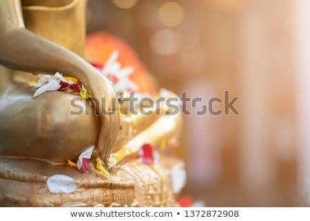 Ancient Buddha joss sculpture Stock photo © bbbar