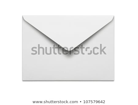 colored envelopes isolated on white stock photo © shutswis