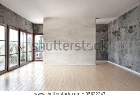 Empty room illuminated with light from window. stock photo © tuulijumala