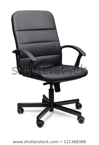 Office chair on wheels. Isolated object on a white Stock photo © shutswis