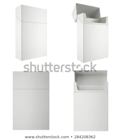 Open packet of cigarettes Stock photo © photography33