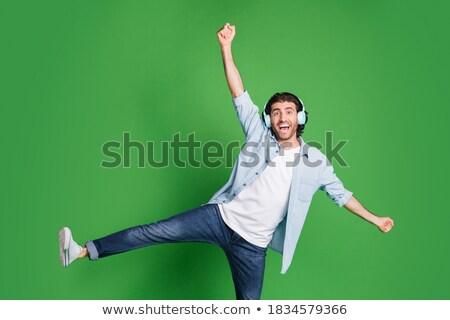 ストックフォト: ダンサー · ポーズ · 画像 · 若い女性