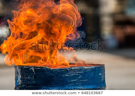 ドラム · 火災 · 燃焼 · ドラム · キット · 孤立した - ストックフォト © misha