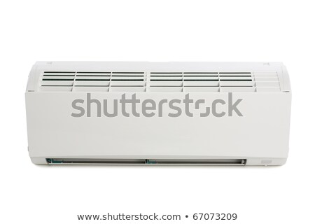 Inner block of a new air conditioner. Modern design. Stock photo © shutswis