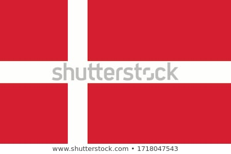 Danish flag drawing Stock photo © marinini