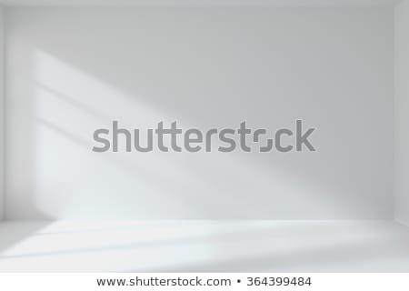 Сток-фото: Empty Apartment With White Walls