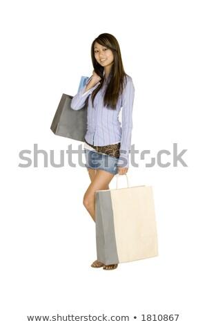 blond · vrouw · zwarte · shirt · portret · toevallig - stockfoto © forgiss