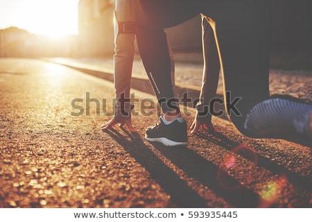 Starting Line Stock photo © Lightsource