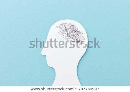 мозг · пластиковых · изолированный · белый · игрушку · игры - Сток-фото © lightsource