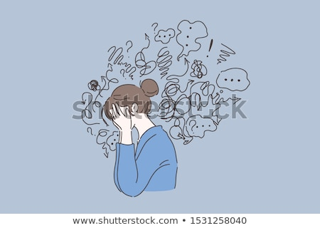 mental disorders stock photo © lightsource