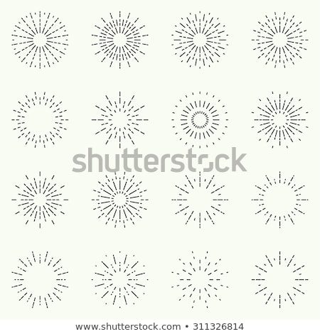 Eenvoudige explosie knal business brand kunst Stockfoto © kloromanam