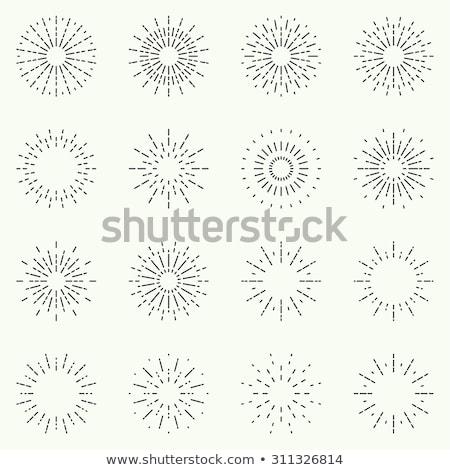 Simple explosion bang stock photo © kloromanam