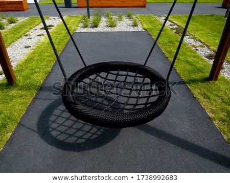 modern children playground in park stock photo © stoonn