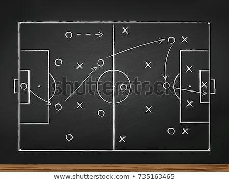 soccer game strategy stock photo © burakowski