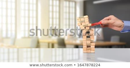 feiten · Rood · achtergrond · justitie · gegevens · illustratie - stockfoto © 3mc