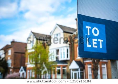 Apartment To Let Stock photo © cosma