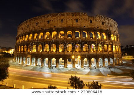 colosseum wall stock photo © joyr