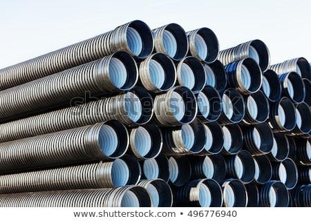 nieuwe · fabriek · bouwplaats · graafmachine · business · gebouw - stockfoto © juniart
