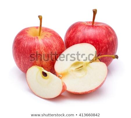 Gala mere agricultorii piaţă alimente Imagine de stoc © bobkeenan
